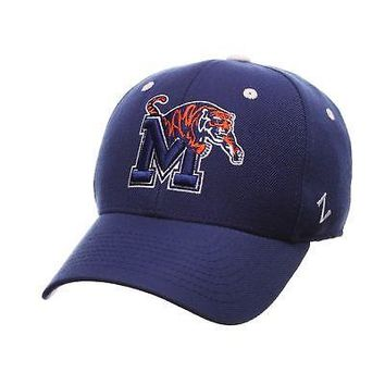 Licensed Memphis Tigers Official NCAA DH Size 7 1/8 Fitted Hat Cap by Zephyr 084571 KO_19_1