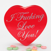 I FN Love You Candy Heart Box
