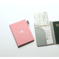 2NUL Passport cover case holder - indi pink
