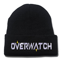 YUGY Overwatch Logo Beanie Embroidery Beanies Skullies Knitted Hats Skull Caps