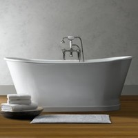 Piedmont Pedestal Soaking Tub and Tub Fill with Handheld Shower | Tubs | Restoration Hardware