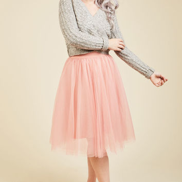 It's Never Tulle Late A-Line Skirt | Mod Retro Vintage Skirts | ModCloth.com