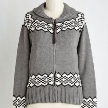 Owls Mid-length Long Sleeve Landing Room Only Cardigan