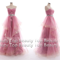 Lace Tulle Wedding Dress Prom Ball Gown Tulle Lace Dress Sweetheart Dress Lace Prom Dress Lace Bridesmaid Dress Lace Formal Dress