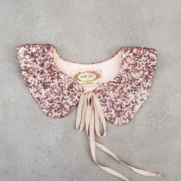Tabitha Collar in Rose Gold *RENTAL*