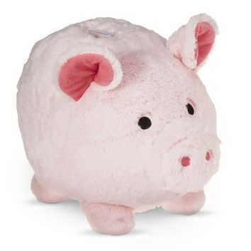 Circo® Jumbo Plush Pig Coin Bank