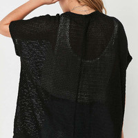 Ecote Vera Sheer Knit Cardigan | Urban Outfitters