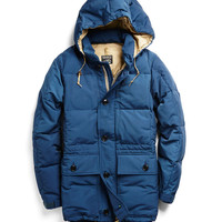 Expedition Down Parka in Blue