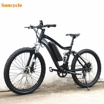 Double Suspension Electric Bike Electric