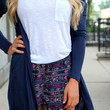 Everyday Miracles Cardi - Navy