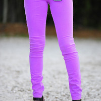RESTOCK Revolve Around Me Pants: Neon Orchid | Hope's