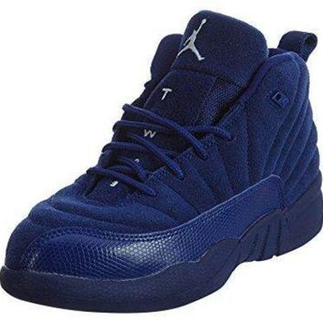 JORDAN 12 Boys sneakers RETRO BP 151186-400 Jordan shoes women
