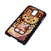 OBEY HELLO KITTY Samsung Galaxy S5 Case Cover