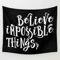 Impossible Things Wall Tapestry by Berwies