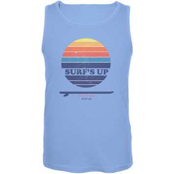 Surf's Up Hanalei Bay Hawaii Mens Tank Top