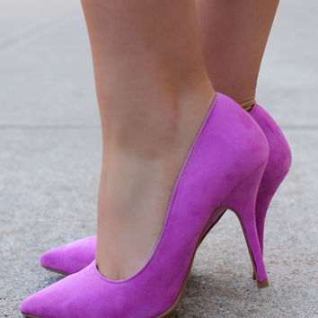 Whispering Orchid Heel
