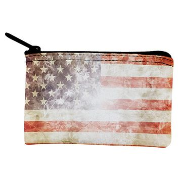 4th of July American Flag Star Spangled Banner Coin Purse