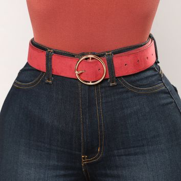 Oh My Belt - Red