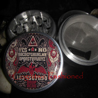 Ouija Board Drop Dead 4 Piece Grinder Herb Spice Quality Aircraft Grade Aluminum