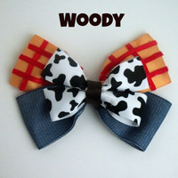 Woody Toy Story Bow