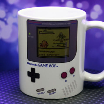 Gameboy Pokemon Mug CUSTOMIZABLE