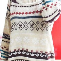 Loose Geometric sweater from Fanewant