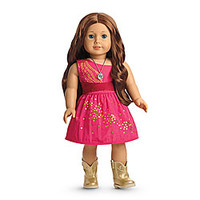 American Girl® Clothing: Saige's Sparkle Dress