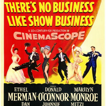 There's No Business Like Show Business 11x17 Movie Poster (1954)