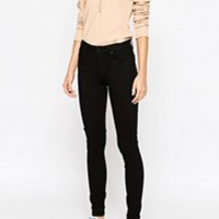Weekday Thursday High Waist Skinny Jeans at asos.com