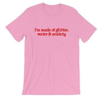 Glitter Water and Anxiety Tee
