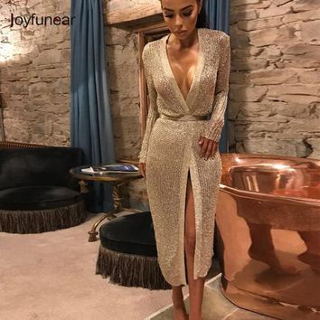 Joyfunear stretchable women summer sexy beach dress hollow out casual dresses party evening elegant knitted dress vestidos