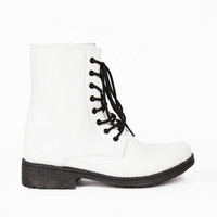 Missile Lace Up Combat Boots $40