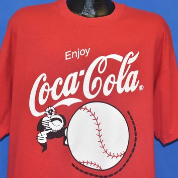 90s Enjoy Coca Cola Baseball t-shirt Extra Large