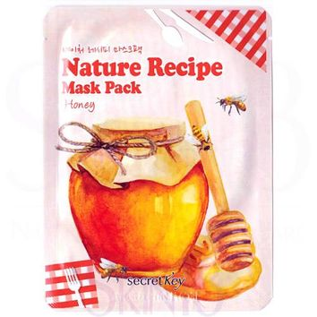 Secret Key Nature Recipe Honey Mask Pack