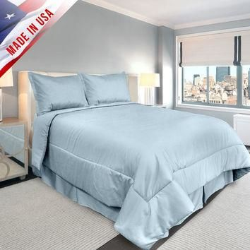 Veratex Supreme Sateen Comforter Set
