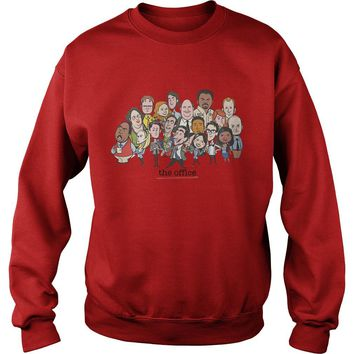 The office TV show chibi shirt Sweat Shirt