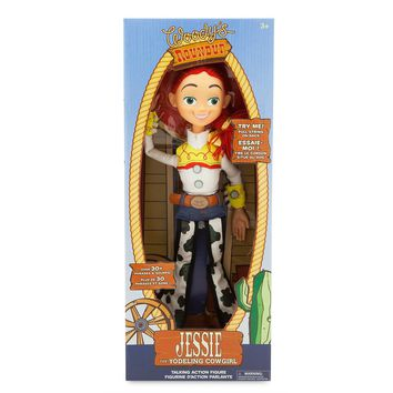 Disney Parks Pixar Toy Story Talking Jessie Figure Pull String New with Box