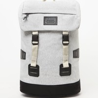 Burton Tinder White Heather School Backpack - Mens Backpacks - White/Heather - NOSZ