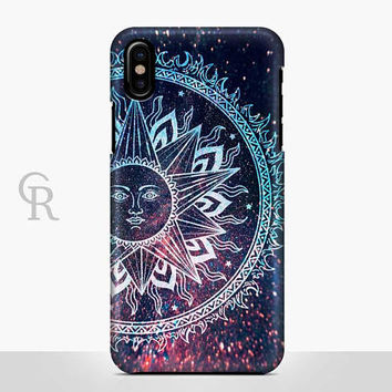 Sun Phone Case For iPhone 8 iPhone 8 Plus - iPhone X - iPhone 7 Plus - iPhone 6 - iPhone 6S - iPhone SE - Samsung S8 - iPhone 5 Boho