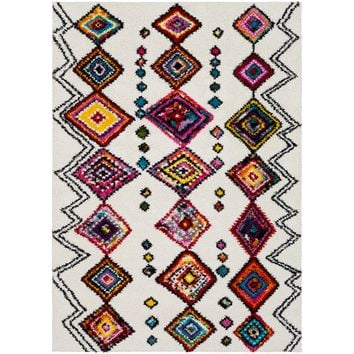 Surya Floor Coverings - RWS6206 Rainbow shag - Area Rugs/Runners