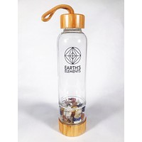 Earth's Elements Crystal Bottle Chakra Alignment