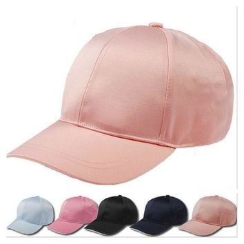 Unisex Men Women Suede Baseball Cap hats ladies black plain pink dad hat polo style caps 2017