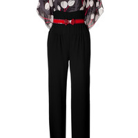 Anna Sui - Belted Jumpsuit