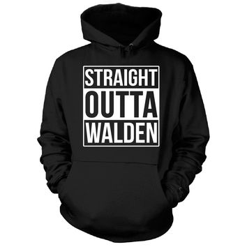 Straight Outta Walden City. Cool Gift - Hoodie