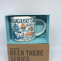 Starbucks Been There Series Collection Massachusetts Coffee Mug New With Box