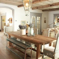 Rustic Dining in Organic Hues »    inspired deco