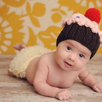 Cupcake - Hip and Trendy kids Caps - Babies that ROCK