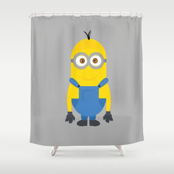 minion Shower Curtain by Fatimakhaled95