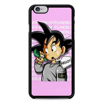 Goku Say Hello Dragonball Z iPhone 6/6S Case