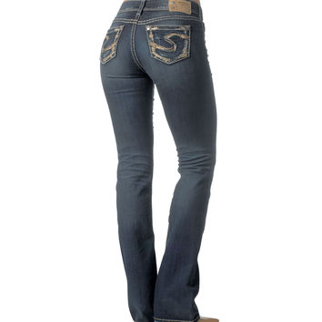 "Silver Jeans Co. SUKI 17"" Boot Cut Jean"